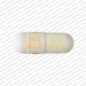 Imprint GG 822 GG 822 - clomipramine 25 mg