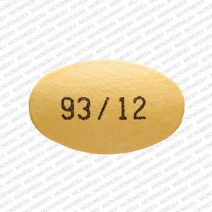 Imprint 93/12 - pantoprazole 40 mg