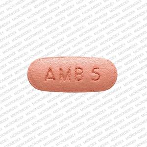 Image 1 - Imprint AMB 5 5401 - Ambien 5 mg