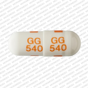 Image 1 - Imprint GG 540 GG 540 - fluoxetine 40 mg