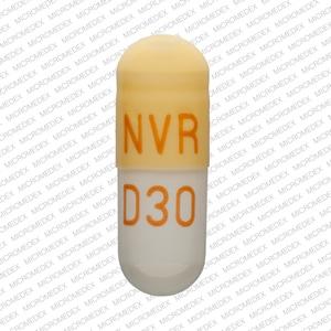 Imprint NVR D30 - Focalin XR 30 mg