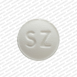 Imprint SZ 12 - eplerenone 25 mg