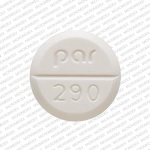 Image 1 - Imprint par 290 - megestrol 40 mg