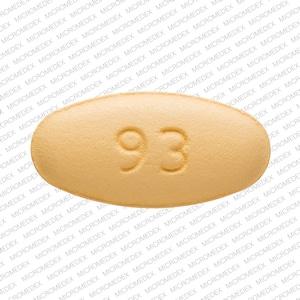 Imprint 93 7244 - clarithromycin 500 mg