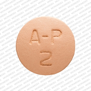 Imprint M A-P 2 - atovaquone/proguanil 250 mg / 100 mg