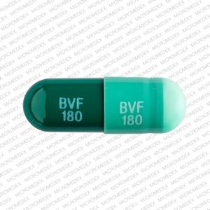 Image 1 - Imprint BVF 180 BVF 180 - diltiazem 180 mg