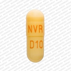 Imprint NVR D10 - Focalin XR 10 mg