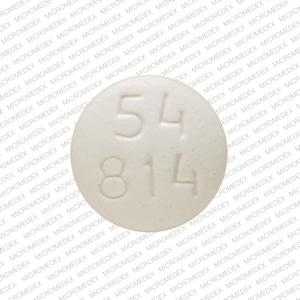 Imprint 54 814 - oxymorphone 10 mg