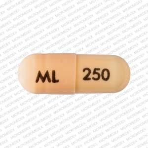 Imprint ML 250 - dofetilide 250 mcg