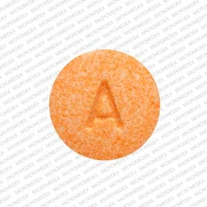 Imprint A 14 - buprenorphine/naloxone 2 mg (base) / 0.5 mg (base)