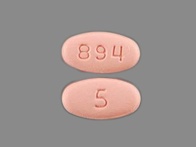 Imprint 894 5 - Eliquis 5 mg