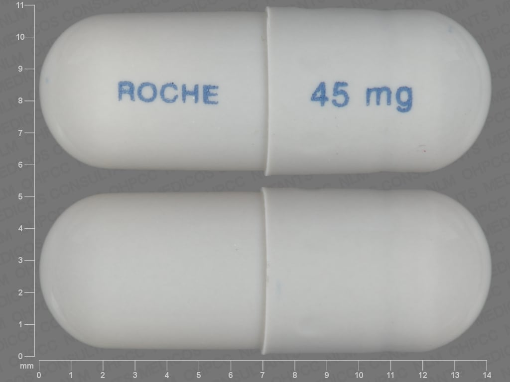 Imprint ROCHE 45 mg - Tamiflu 45 mg