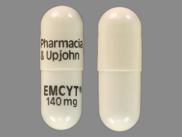 Imprint Pharmacia & Upjohn EMCYT 140 mg - Emcyt 140 mg