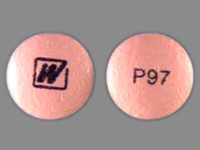 Imprint W P97 - primaquine 26.3 mg (15 mg base)