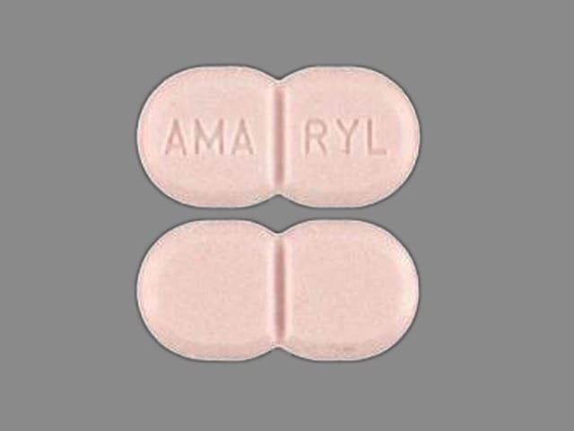 Imprint AMA RYL - Amaryl 1 mg