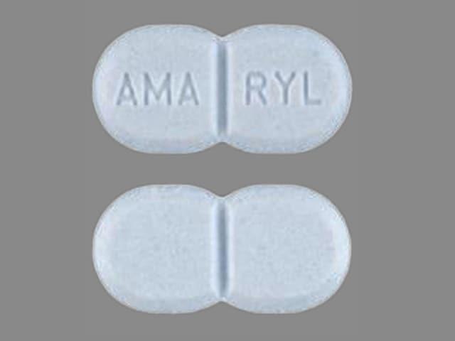 Imprint AMA RYL - Amaryl 4 mg