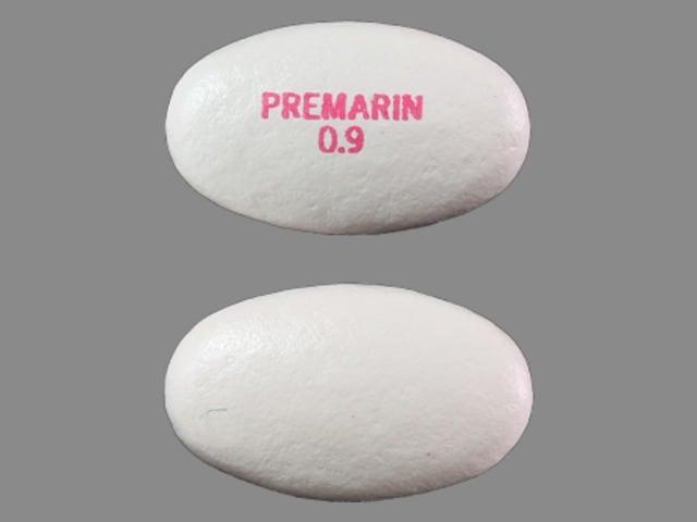 Image 1 - Imprint PREMARIN 0.9 - Premarin 0.9 mg