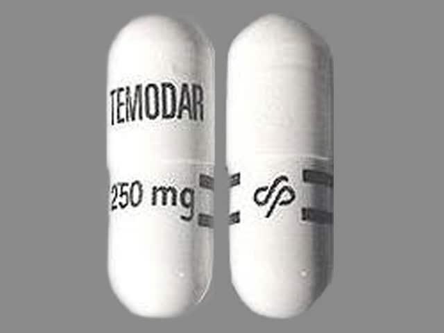 Imprint TEMODAR 250 mg Logo - Temodar Temozolomide 250 mg
