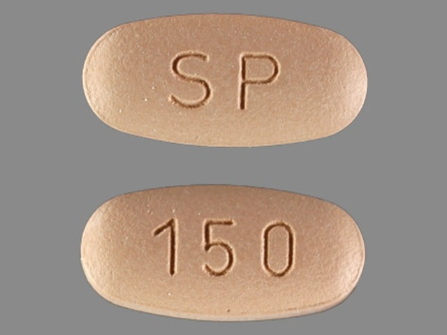 Imprint SP 150 - Vimpat lacosamide 150 mg