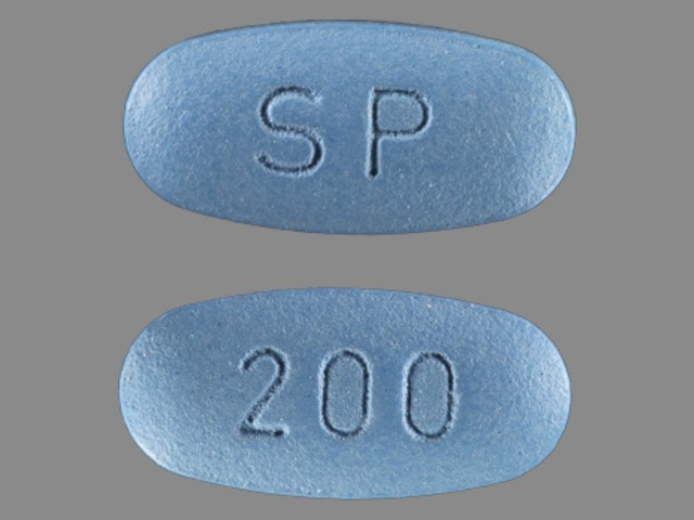 Imprint SP 200 - Vimpat lacosamide 200 mg