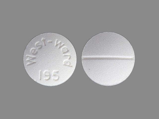 Imprint West-ward 195 - chloroquine 250 mg