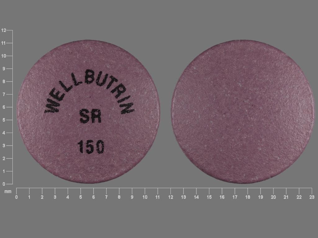 Imprint WELLBUTRIN SR 150 - Wellbutrin SR 150 mg