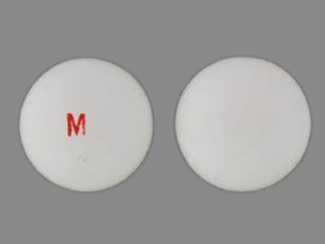 Imprint M - Thiola 100 mg