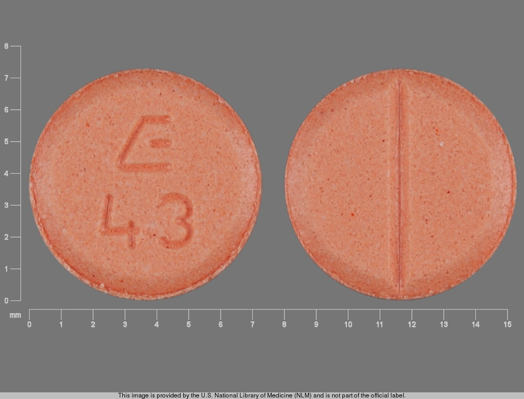 Imprint E 43 - midodrine 5 mg