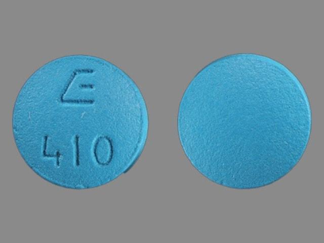 Imprint E 410 - bupropion 100 mg