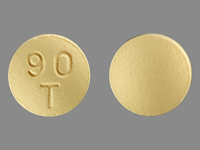 Imprint 90 T - Brilinta 90 mg