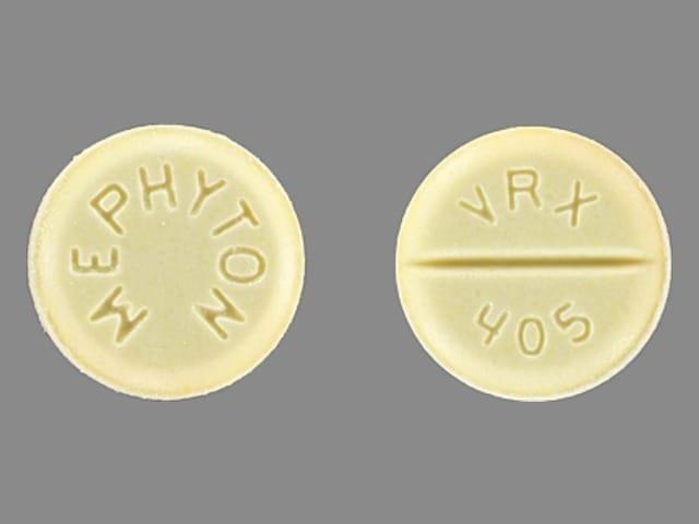 Imprint MEPHYTON VRX 405 - Mephyton 5 mg