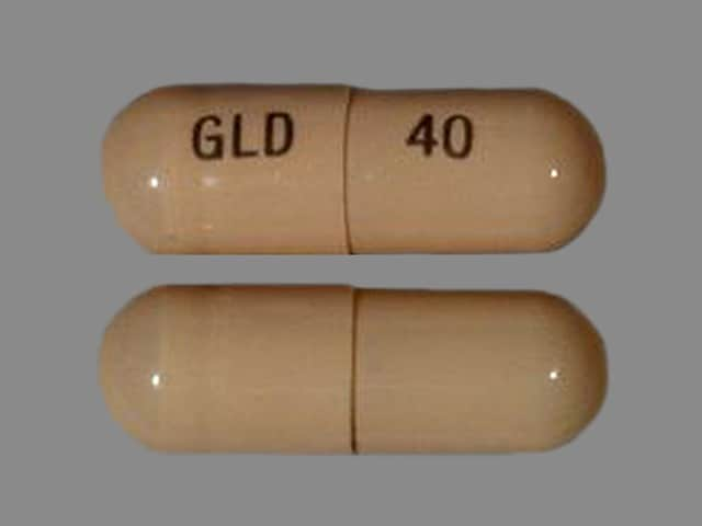 Imprint GLD 40 - Oracea 40 mg