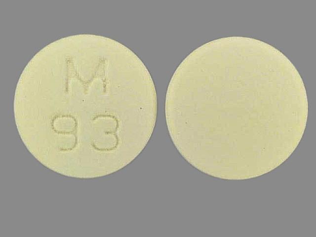 Imprint M 93 - flurbiprofen 100 mg