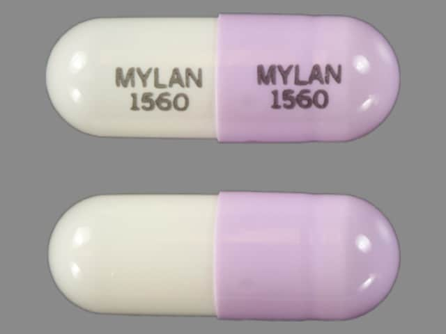 Imprint MYLAN 1560 MYLAN 1560 - phenytoin 100 mg