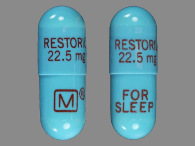 Imprint RESTORIL 22.5 mg M FOR SLEEP - Restoril 22.5 mg