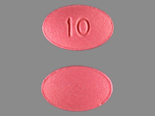 Imprint 10 - Viibryd 10 mg