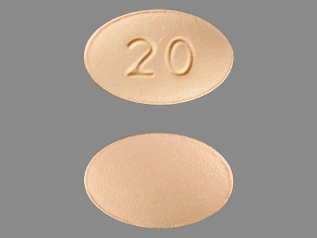 Imprint 20 - Viibryd 20 mg