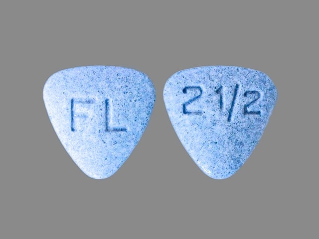 Imprint FL 2 1/2 - Bystolic 2.5 mg