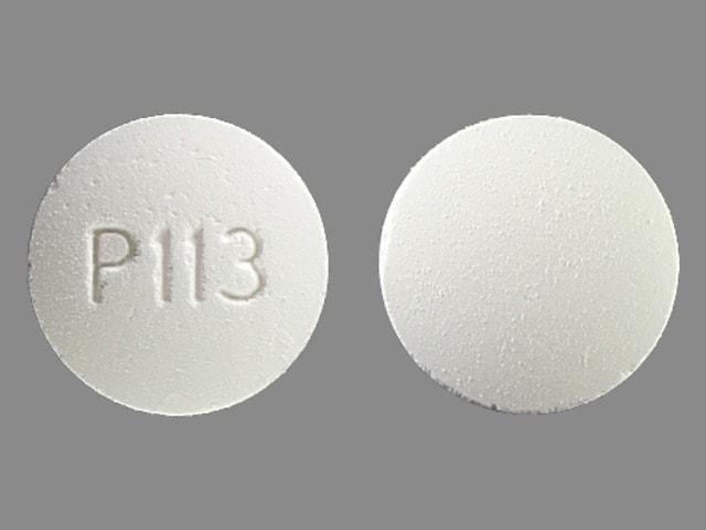 Imprint P113 - calcium acetate 667 mg