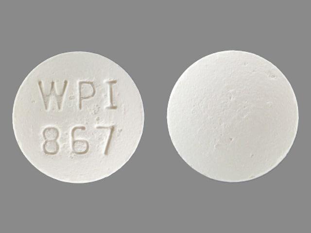 Imprint WPI 867 - bupropion 150 mg