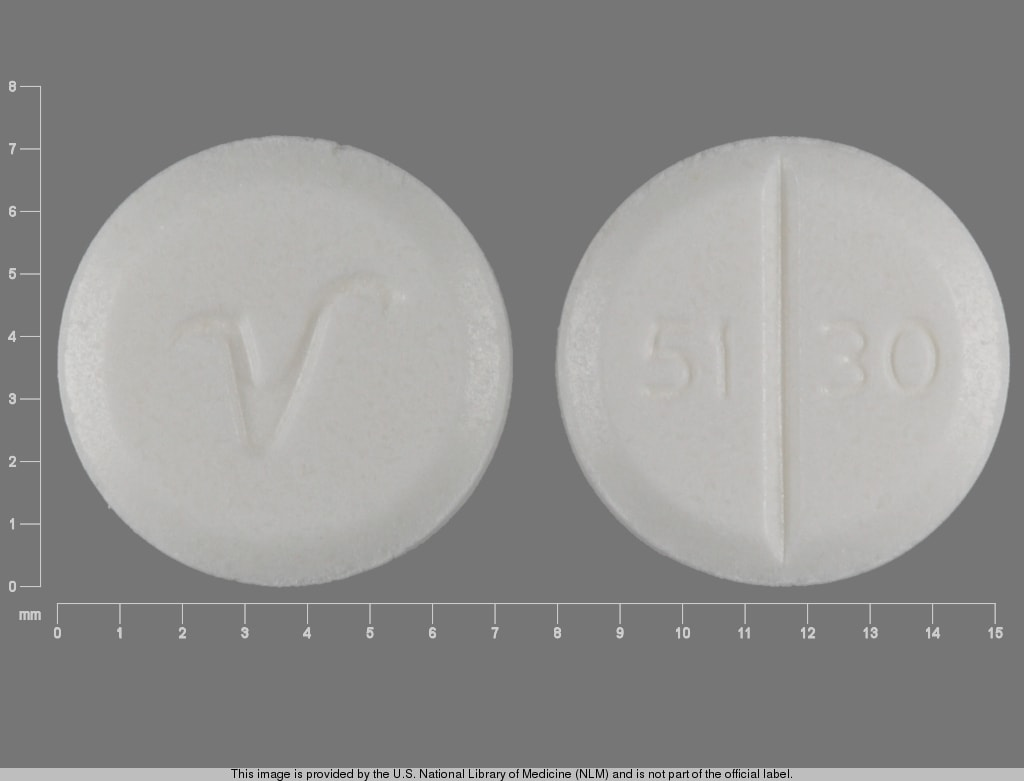 Imprint 51 30 V - primidone 50 mg
