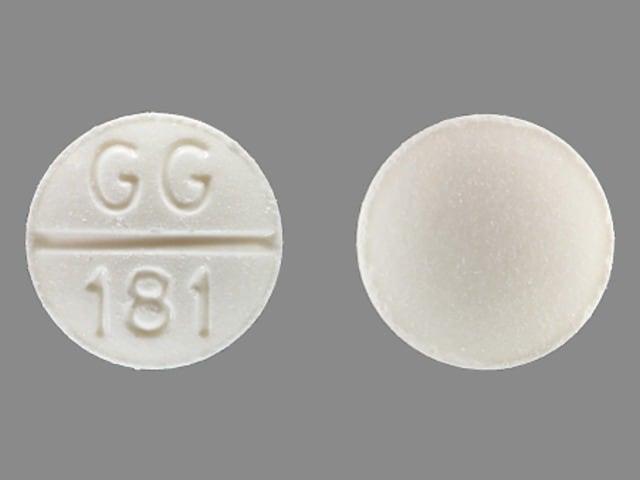 Imprint GG181 - methazolamide 50 mg