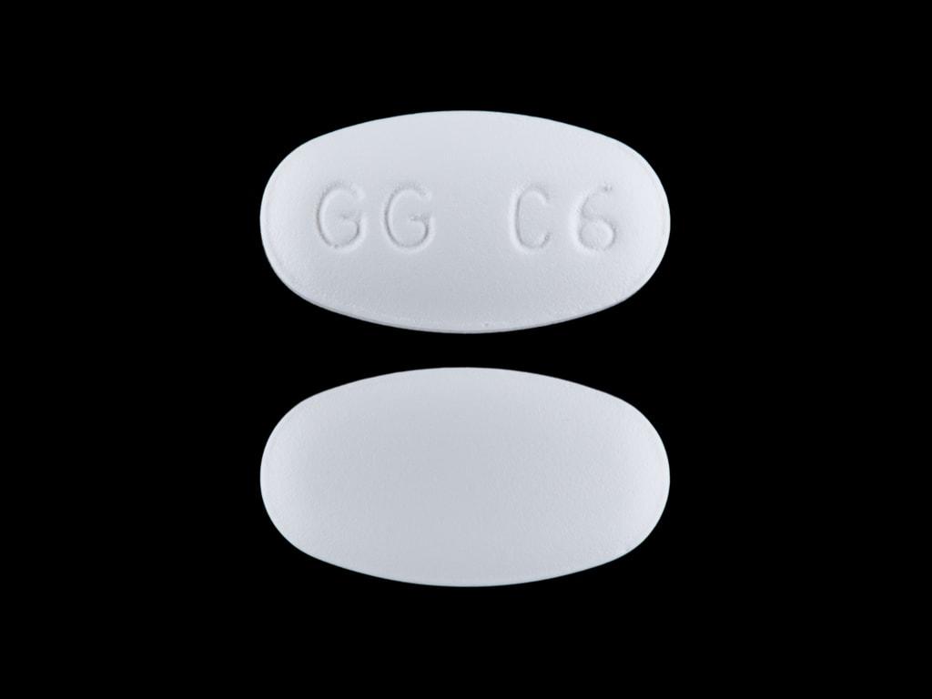 Imprint GG C6 - clarithromycin 250 mg