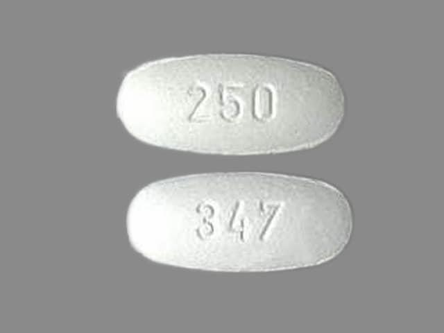 Imprint 347 250 - cefprozil 250 mg