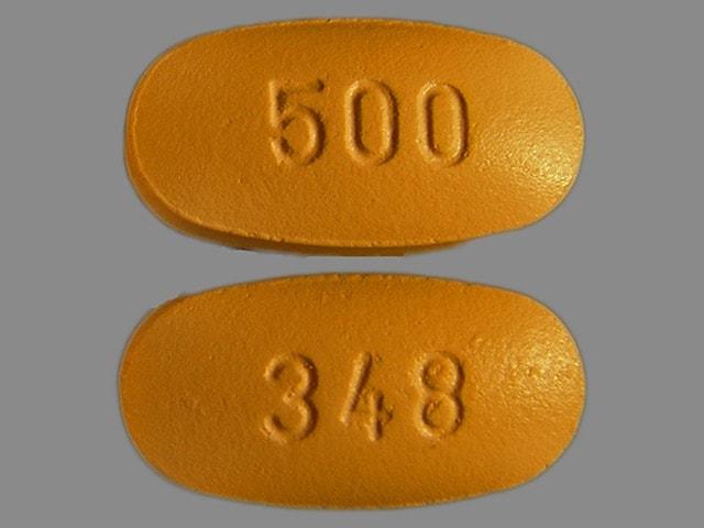 Imprint 348 500 - cefprozil 500 mg