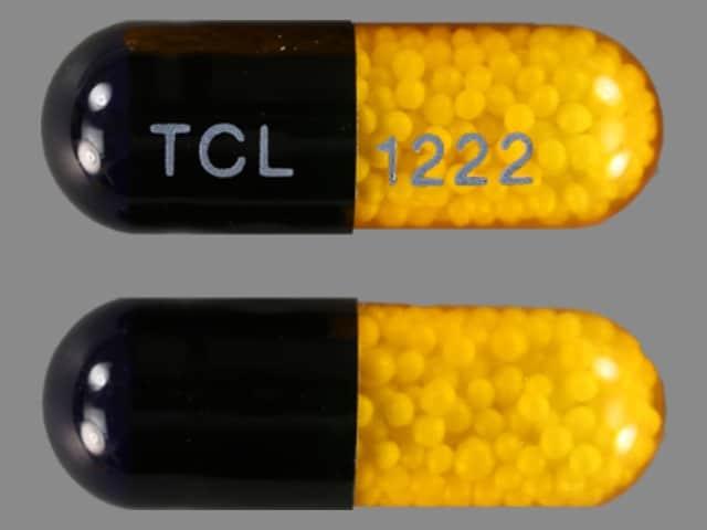 Imprint TCL 1222 - nitroglycerin 6.5 mg