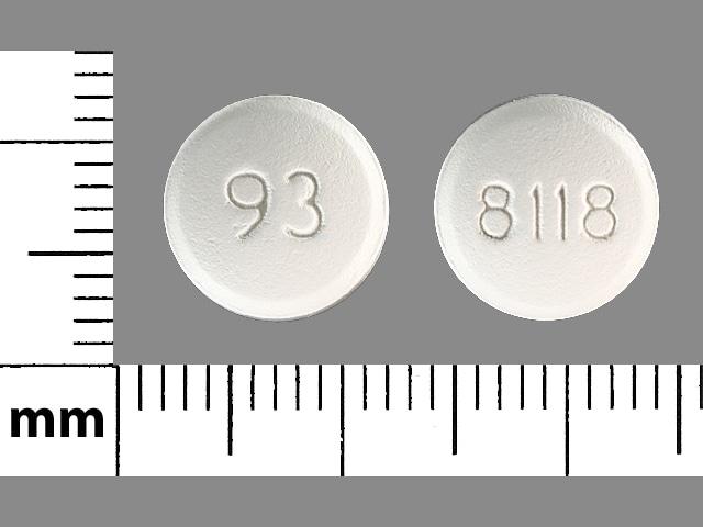 Imprint 93 8118 - famciclovir 250 mg