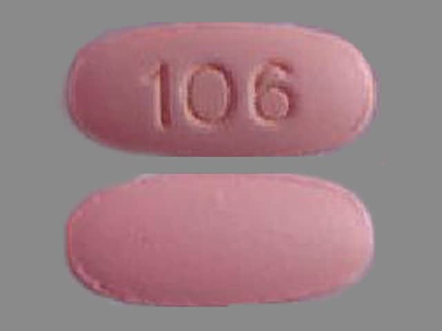 Imprint 106 - methenamine 1 gram