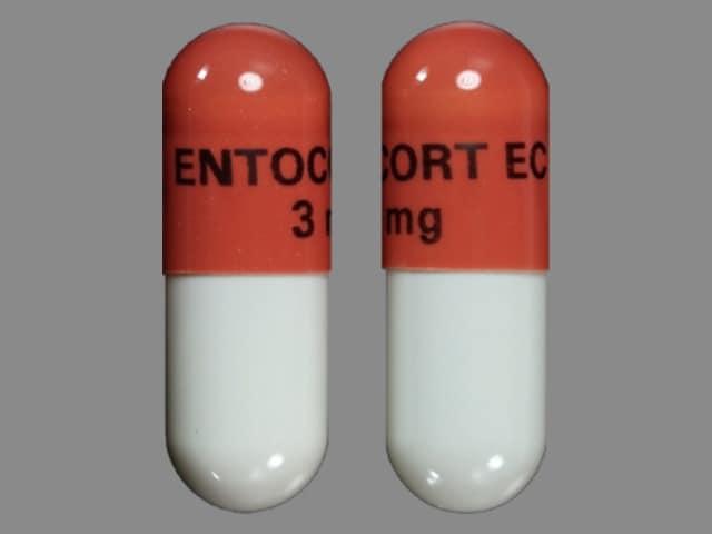 Imprint ENTOCORT EC 3mg - budesonide 3 mg