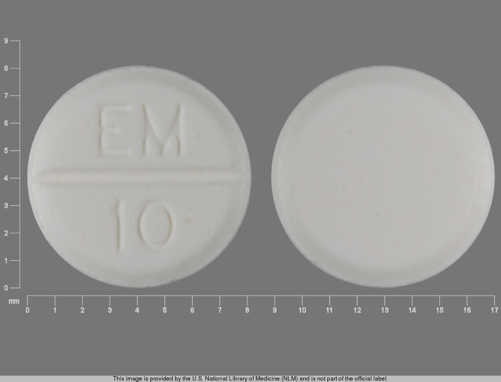 Imprint EM 10 - methimazole 10 mg